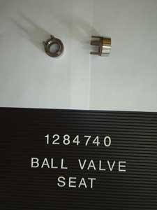 1284740 Ball Valve Seat Used in L11, W11, R35 and 6-60 Pumps-0