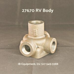 27670 Valve Body For 1207620, 1251512 and 1221042 Relief Valves-0