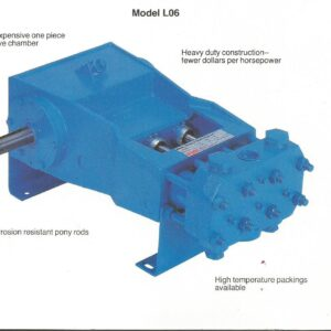 L0614 Pump Assembly, Part No 5257495-0