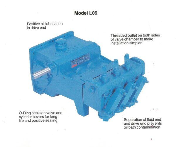 L0918 D Pump Assembly, Part No 1279031-0