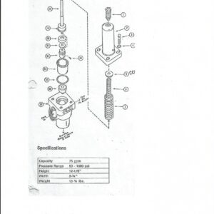 P-513391 Relief Valve Parts-0